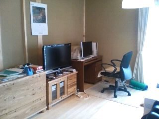 新居の書斎