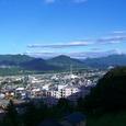 晴天の大峰山です