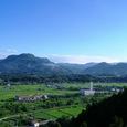三峰山と戸神山