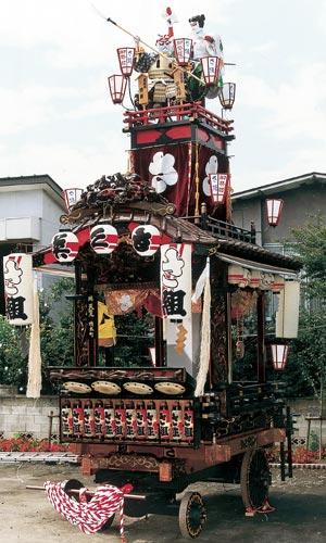 材木町の山車
